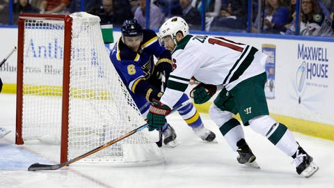 Wild at Blues, Game 1: 4/16/15