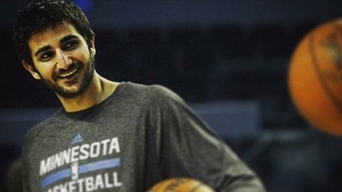 Ricky Rubio, Timberwolves point guard