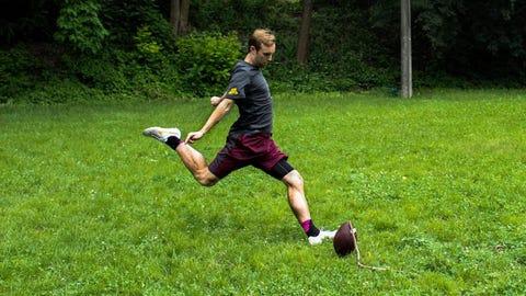 Andrew Harte, Gophers kicker