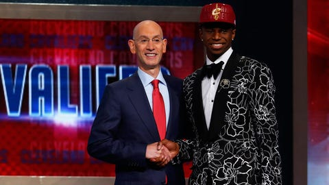 Cavaliers pick Andrew Wiggins first overall, 2014