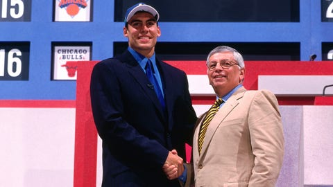 Wolves select Wally Szczerbiak sixth overall, 1999