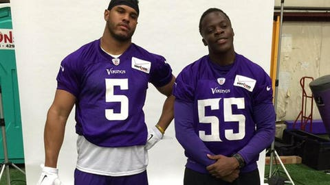 Anthony Barr, Vikings linebacker