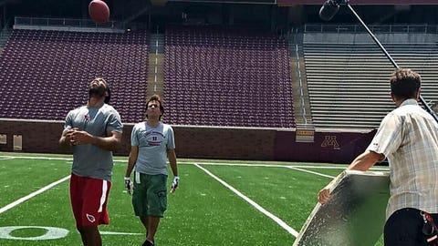 Larry Fitzgerald, Cardinals receiver, Minneapolis native