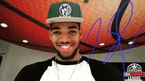 Karl-Anthony Towns, Wolves power forward