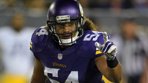 Defensive rookie of the year: Eric Kendricks
