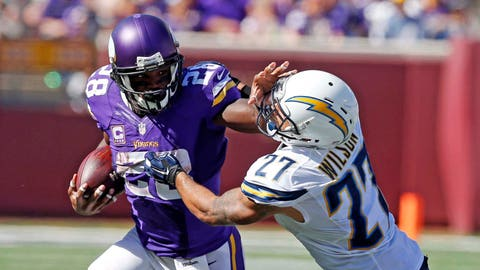 Sept. 27: Vikings 31, Chargers 14