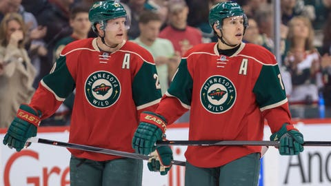 Parise and Suter staying healthy and energized