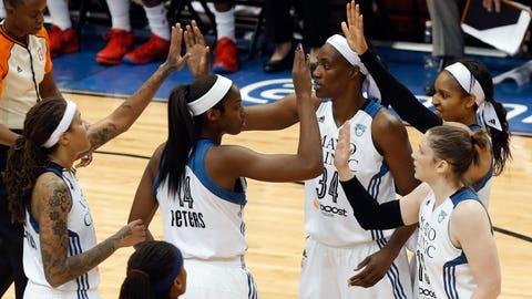 PHOTOS: Lynx celebrate 2015 WNBA title