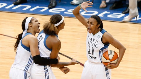 The Lynx are a deeper team than last year's championship squad: