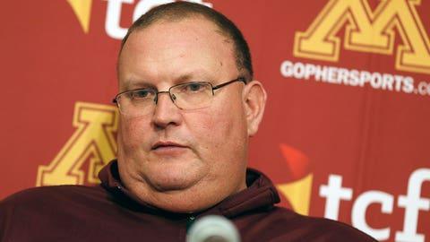 Tracy Claeys, Minnesota interim coach/defensive coordinator
