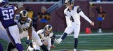 Kicker 'Greg the Leg' Zuerlein re-signs with Rams