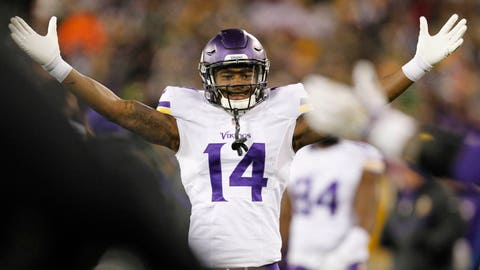 Offensive rookie of the year: Stefon Diggs
