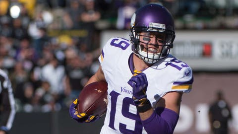 Adam Thielen, wide receiver, exclusive rights