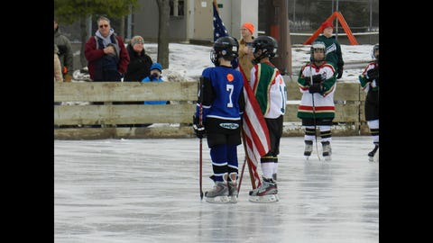 Hockey Day Minnesota 2013