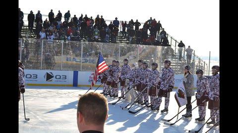 Hockey Day Minnesota 2015
