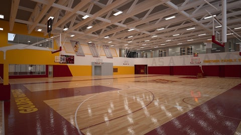 Basketball Development Center Practice Court
