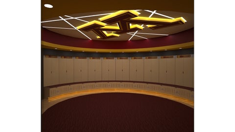 Basketball Development Center Locker Room