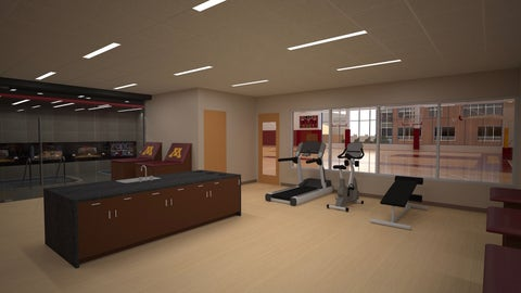 Basketball Development Center Training Room