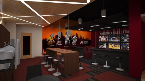 Basketball Development Center Women's Players' Lounge