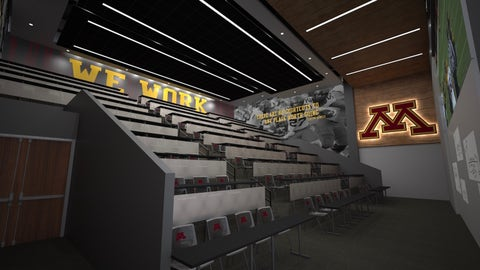 Football Performance Center Team Auditorium