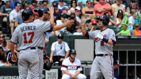Aug. 11, 2013, vs. Chicago White Sox (Career homer No. 17)