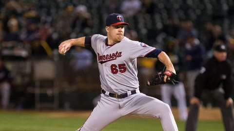 Trevor May, Twins pitcher