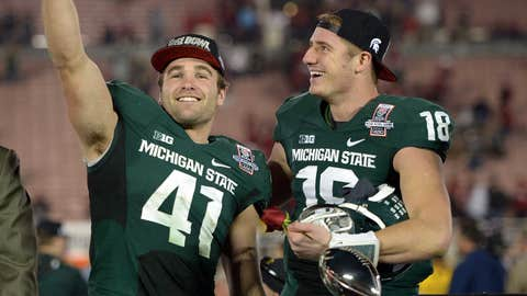 MSU defeats Stanford 24-20 in the Rose Bowl
