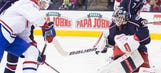 Jackets try to prevent sweep at hands of Canadiens