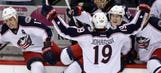 Blue Jackets race to finish line with NHL's busiest schedule