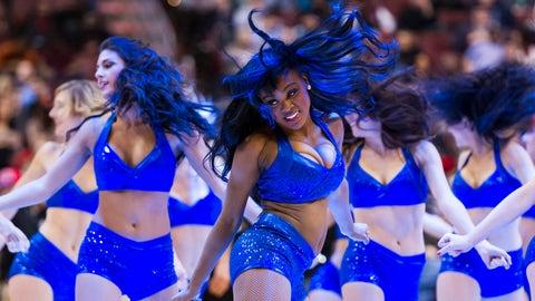 Sixers Dancers