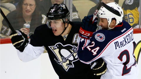 Blue Jackets Penguins Hockey