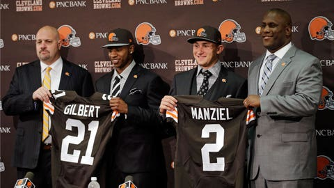 The new-look Cleveland Browns
