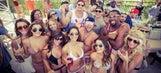 Johnny Manziel attends UFC fight, parties in Vegas