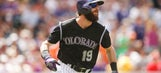 Charlie Blackmon quietly a top 10 fantasy baseball outfielder