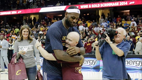 Lebron Welcome Home Photo Gallery