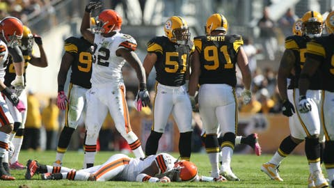 Oct 17, 2010: Steelers 28, Browns 10