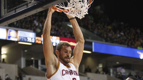 18. Kevin Love, PF Cleveland Cavaliers: $15,719,063