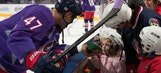 Hockey Fights Cancer night has special meaning for Davidson family