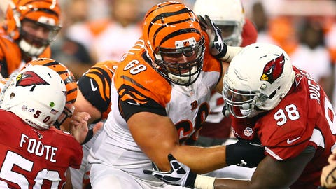 Kevin Zeitler, OG, Cincinnati Bengals