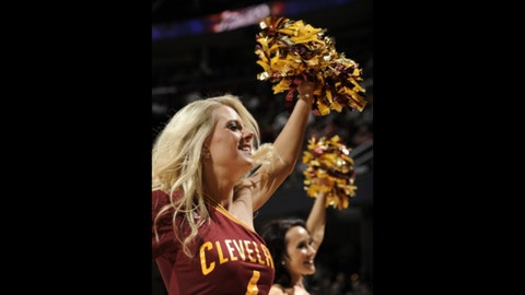 Cleveland Cavalier Girls dance team