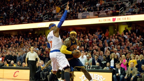 Return of The King: LeBron's first game back as a Cavalier