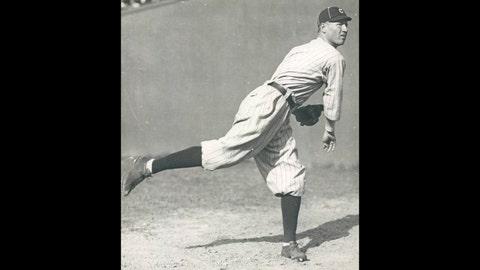 Jim Bagby, 1920