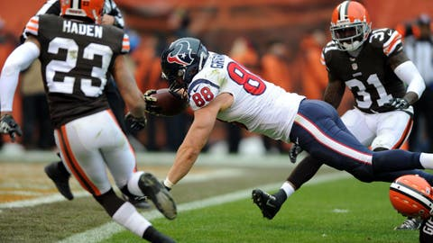 October 15: Cleveland Browns at Houston Texans, 1 p.m. ET