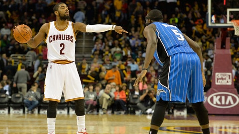 Kyrie in control