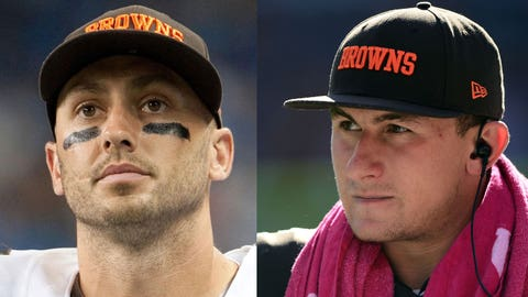 2014: Brian Hoyer vs. Johnny Manziel
