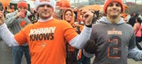 Manziel mania sweeps Cleveland before Browns game