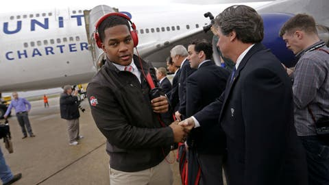 Buckeyes land in New Orleans