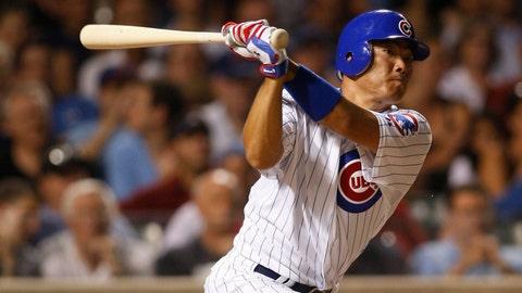 Kosuke Fukudome, Chicago Cubs (March 31, 2008)