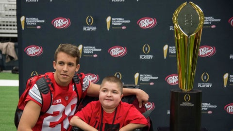Jacob and the trophy