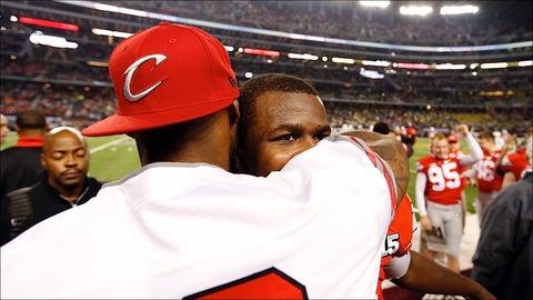 LeBron James and Cardale Jones